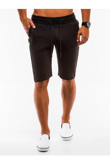 Pantaloni scurti - W054-negru
