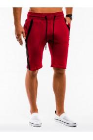 Pantaloni scurti - W054-rosu
