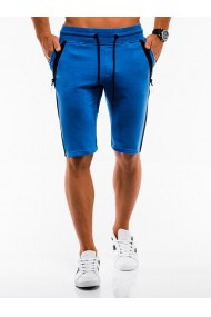 Pantaloni scurti - W054-albastru