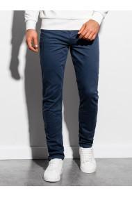 Pantaloni barbati P895 - bleumarin