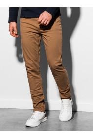 Pantaloni barbati P895 - camel