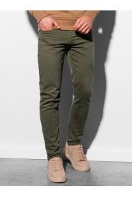 Pantaloni barbati P895 - khaki