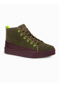 Sneakers barbati T362 - khaki