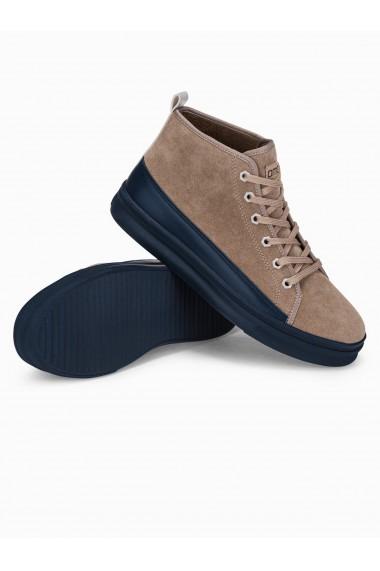 Sneakers barbati T362 - bej