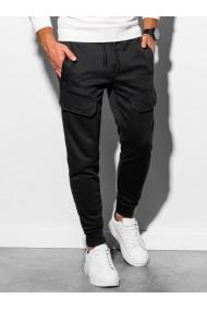 Pantaloni de trening barbati - P904 - negru