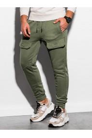 Pantaloni de trening barbati - P904 - khaki