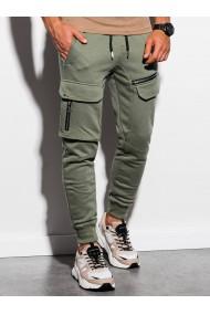 Pantaloni de trening barbati - P905 - khaki