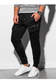 Pantaloni de trening barbati - P905 - negru