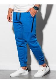 Pantaloni de trening barbati - P919 - albastru