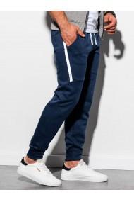 Pantaloni de trening barbati - P919 - bleumarin