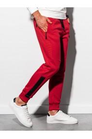 Pantaloni de trening barbati - P920 - rosu