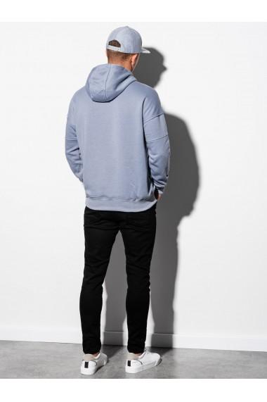 Hanorac barbati B1078 - albastru-deschis