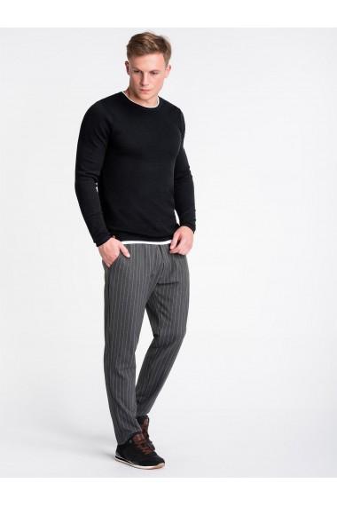 Bluza premium barbati E121 - negru
