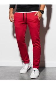 Pantaloni de trening barbati - P866-rosu