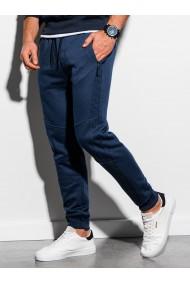 Pantaloni de trening barbati - P920 - bleumarin