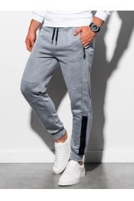 Pantaloni de trening barbati - P920 - gri-deschis