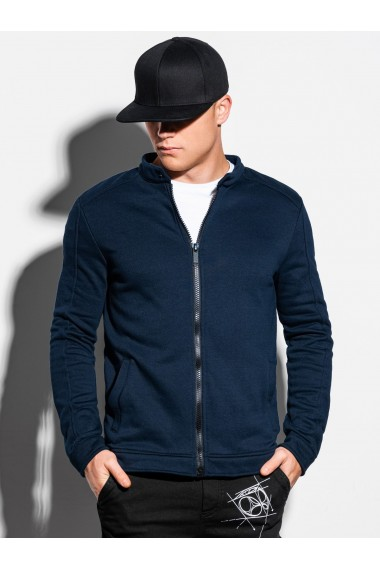 Bluza casual barbati B1071 - bleumarin