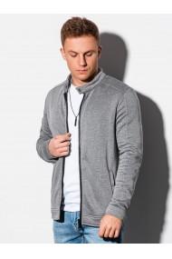 Bluza casual barbati B1071 - gri-descnis