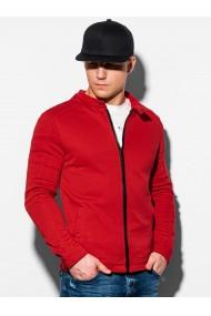 Bluza casual barbati B1071 - rosu
