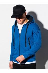 Hanorac barbati B1076 - albastru