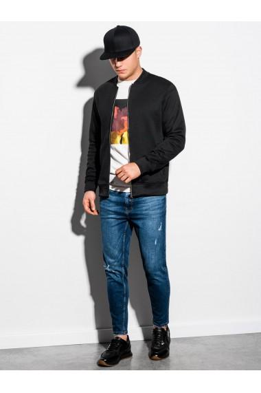 Bluza casual barbati B1077 - negru