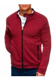 Jacheta casual barbati C453 - rosu