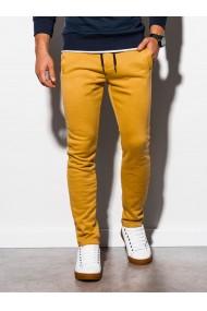 Pantaloni de trening barbati - P866-galben