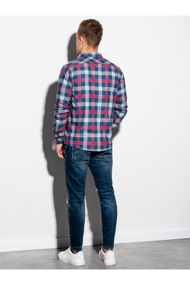 Camasa regular fit barbati K565 - rosu