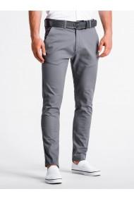 Pantaloni premium casual barbati - P830-gri