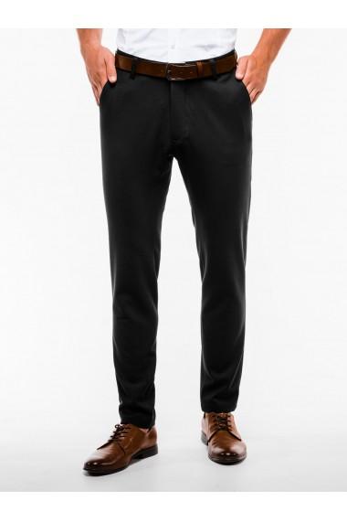 Pantaloni premium casual barbati - P832-negru