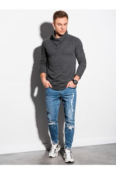 Bluza premium barbati B1184 - gri-inchis