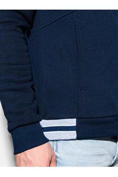 Bluza premium barbati B1183 - bleumarin
