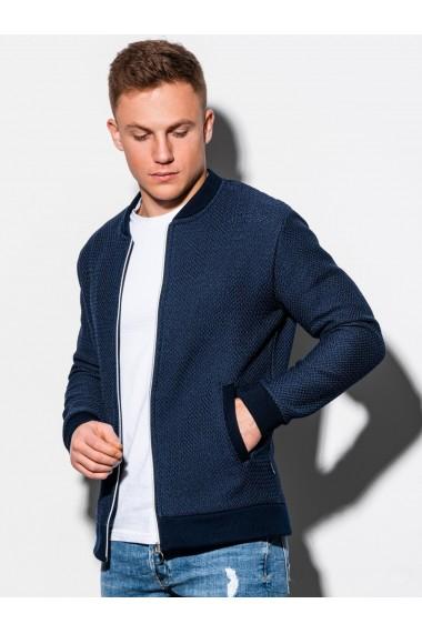 Bluza premium barbati B1206 - bleumarin