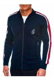 Bluza premium barbati B975 - bleumarin