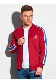 Bluza premium barbati B975 - rosu