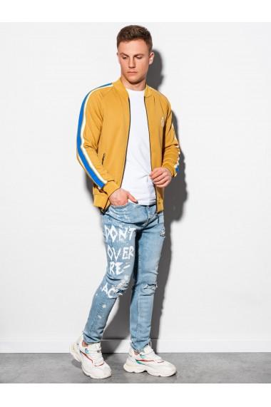 Bluza premium barbati B975 - mustar