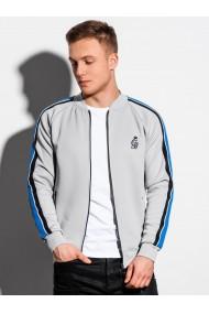 Bluza premium barbati B975 - gri