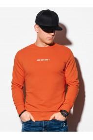 Hanorac barbati B1215 - portocaliu