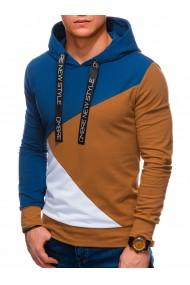 Hanorac premium barbati B1050 - camel-albastru