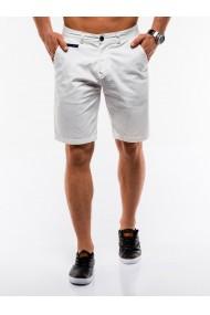 Pantaloni scurti barbati W194 - alb