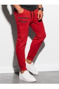 Pantaloni de trening barbati - P900 - rosu
