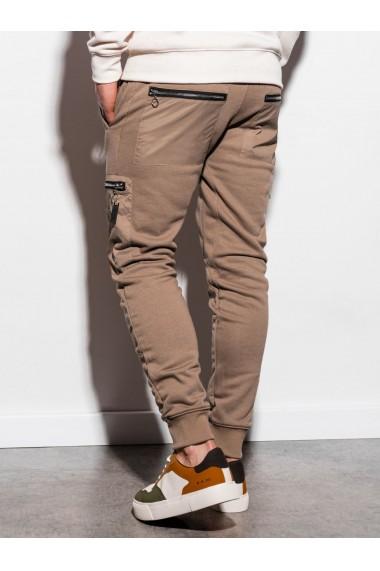 Pantaloni de trening barbati - P917 - camel
