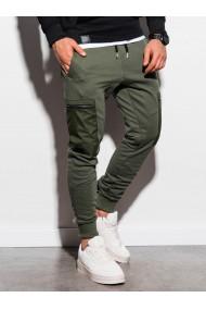 Pantaloni de trening barbati - P917 - khaki