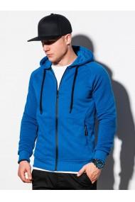 Hanorac barbati B1083 - albastru
