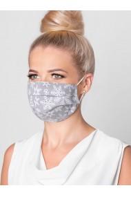 Masca protectie din bumbac de inalta calitate A297 - gri