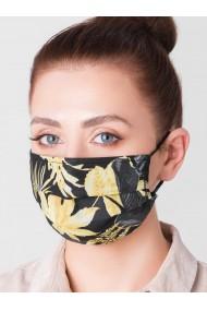 Masca protectie din bumbac de inalta calitate A306 - negru