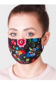 Masca protectie din bumbac de inalta calitate A307 - negru