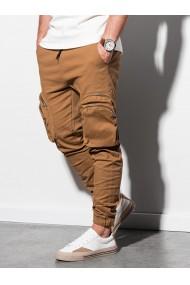 Pantaloni joggers barbati P996 - camel