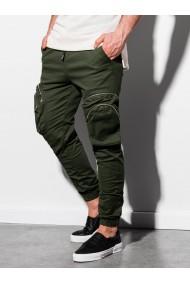 Pantaloni joggers barbati P996 - khaki