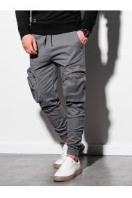 Pantaloni joggers barbati P996 - gri